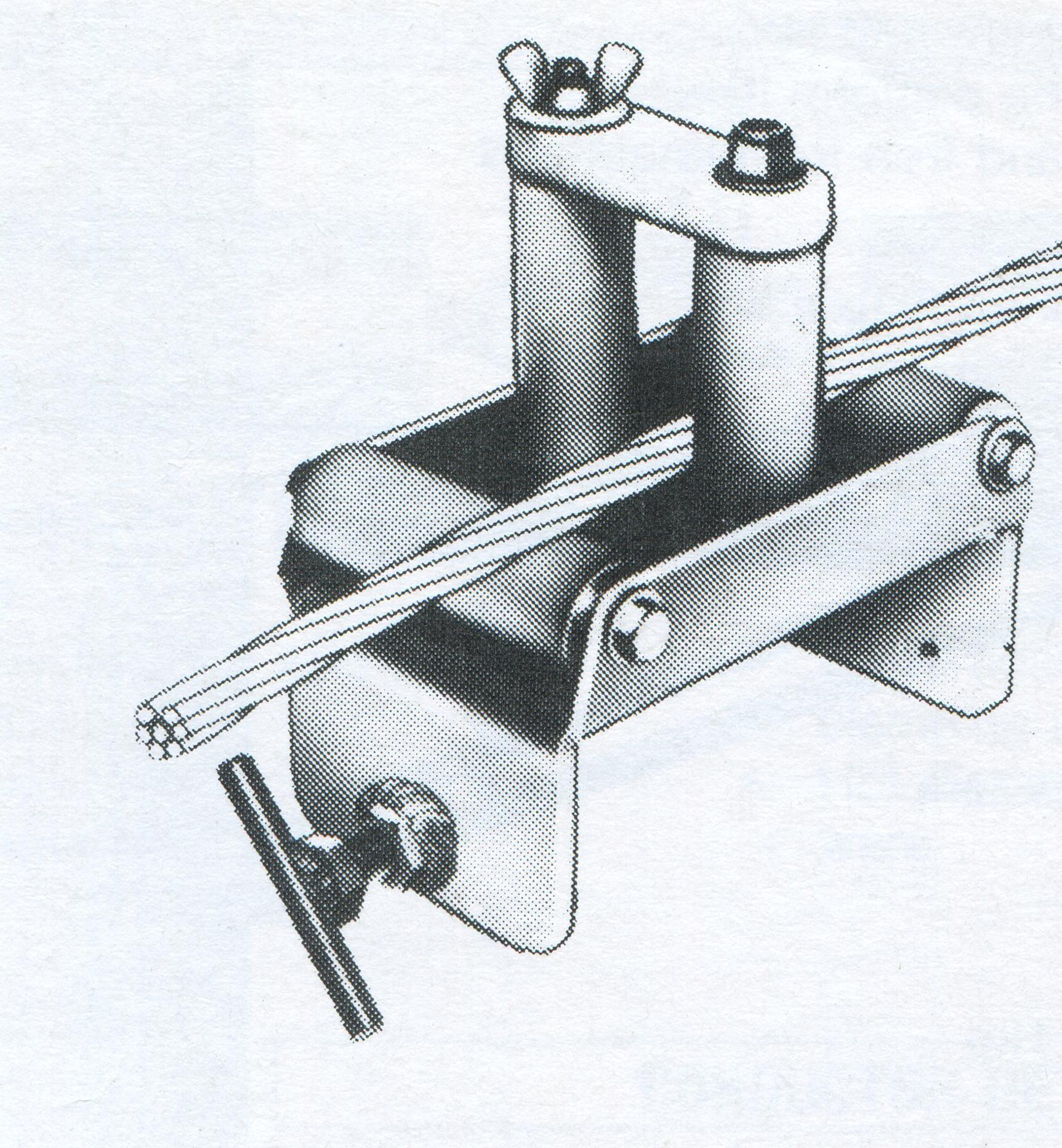 overhead line stringing roller