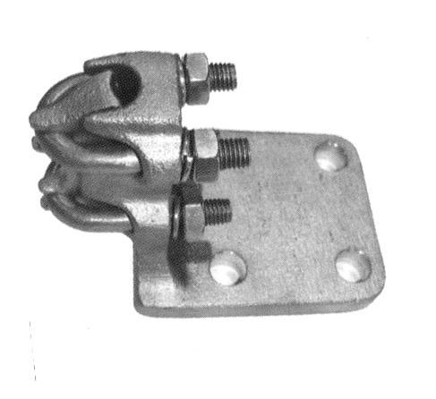 Aluminium Right Angle Terminal, Twin U-Bolt Style ATL-L