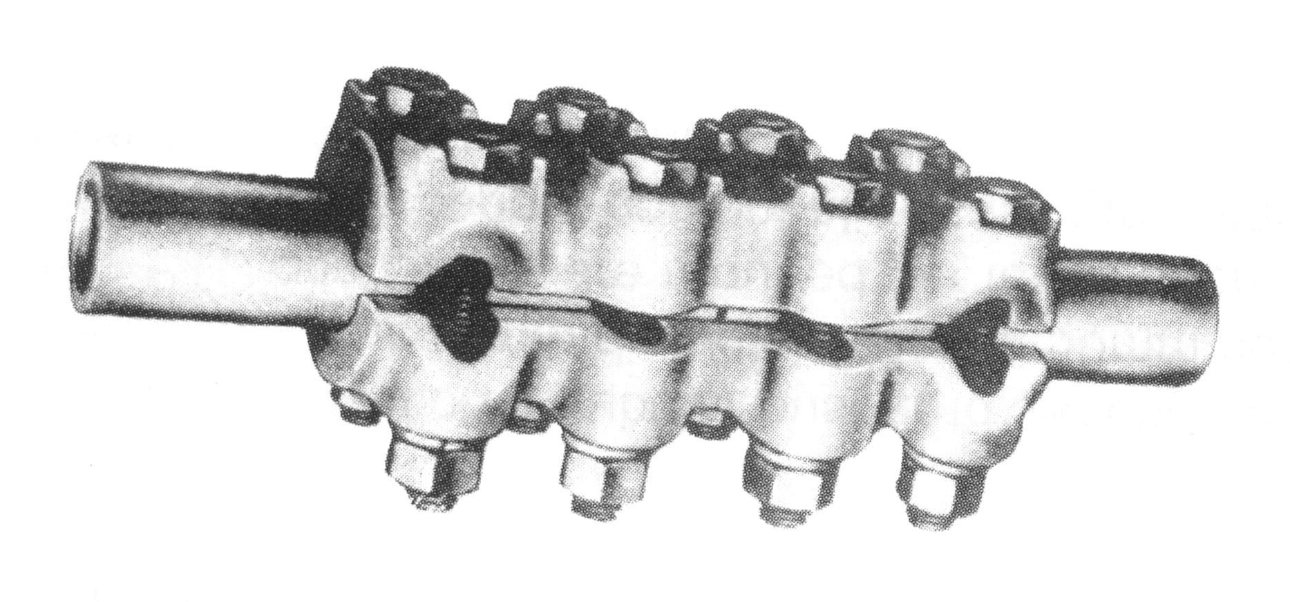 Aluminium Tube Straight Connector AST