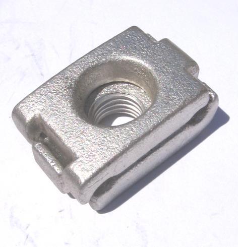 Copper Threaded Stud Clamp TSC1635