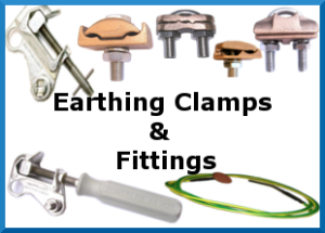powerline Equipment Earthing Clamps & Fittings
