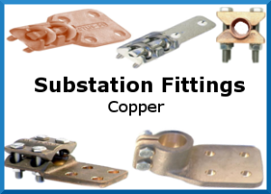 Powerline Equipment Substation Fittings Copper